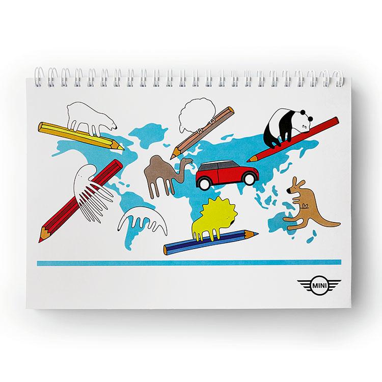 Каталог Книжка-раскраска MINI, Multicolor от магазина bmw ...