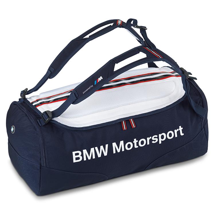 66fcdf554a8d картинка Спортивная сумка BMW Motorsport Sports от магазина bmw-orugunal.ru