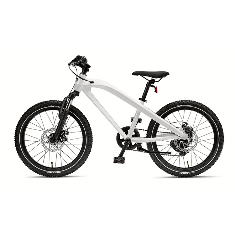 картинка Детский велосипед BMW Junior Cruise Bike, Black/White от магазина bmw-original.ru